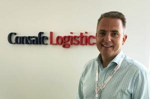 Tobias Henriksson som är Sales Director på Consafe Logistics.