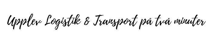 Upplev Logistik & Transport